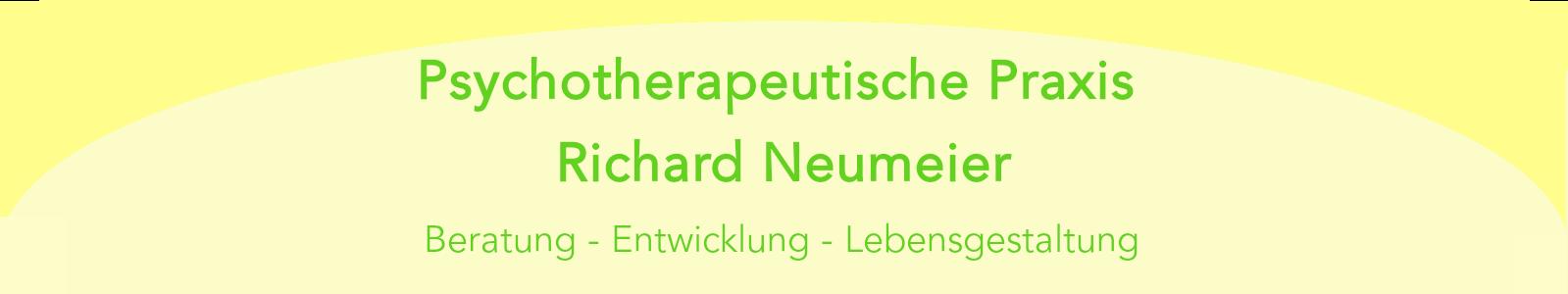 Psychotherapeutische Praxis Richard Neumeier